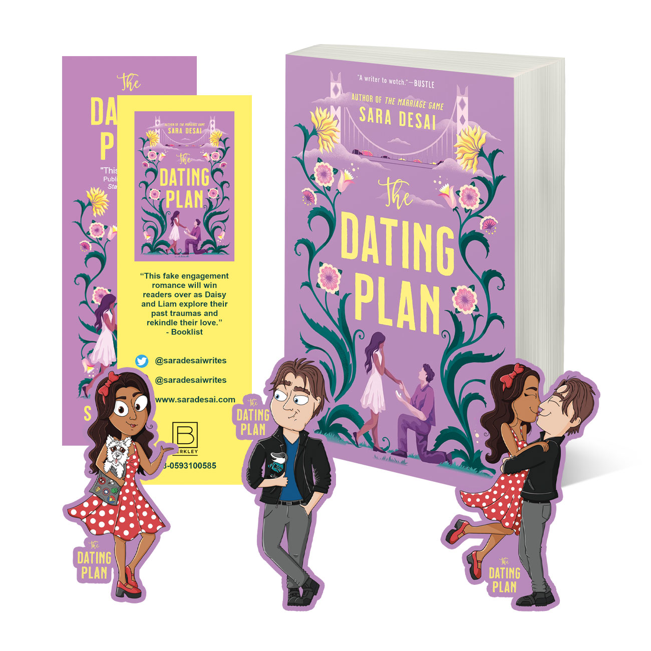 The Dating Plan Swag Giveaway